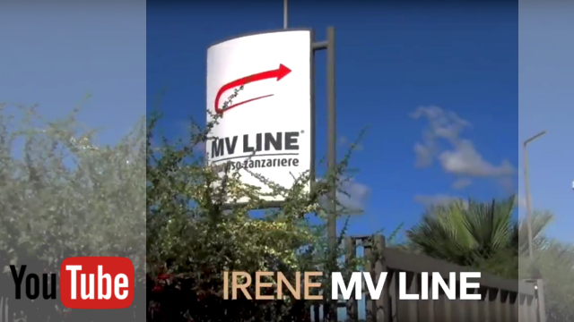 VIDEO: MV Line Irene - mreža za komarce